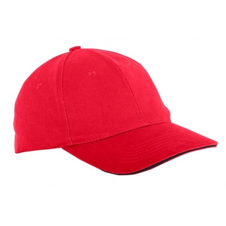 Cap cotton red 12 pieces Lahti Pro