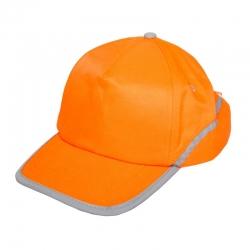Czapka z daszkiem odblaskowa pomarańczowa LahtiPro L1010100