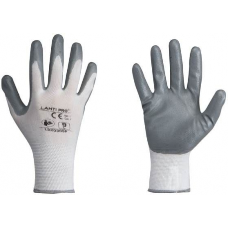 Gloves coated with nitrile 9[L] LahtiPro L220309K
