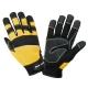 Rękawice warsztatowe żółte LahtiPro L2808