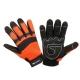 Rękawice warsztatowe pomarańcz LahtiPro L2805
