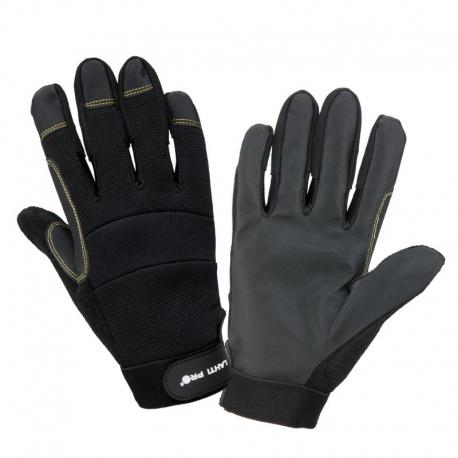 Rękawice warsztatowe skóra syntetyczna LahtiPro L2810
