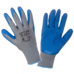 Rękawice lateksowe ochronne 12 par LahtiPro L2104
