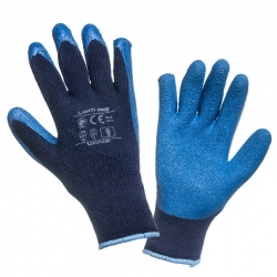 Warm gloves latex blue LahtiPro L2501