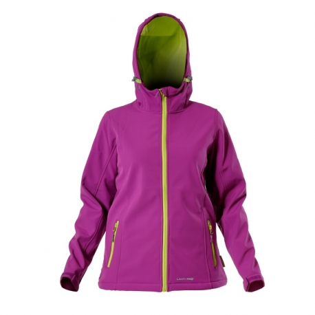 Softshell jacket with a hood for women LahtiPro L40905