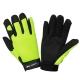 Rękawice warsztatowe czarno-żółte LahtiPro L2803