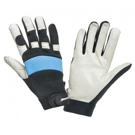 Rękawice warsztatowe skóra świńska LahtiPro L2804