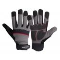 Rękawice warsztatowe wzmocnione elementami PVC Lahti Pro L2809