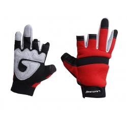 Anti-blister padded fingerless protective gloves Lahti Pro L2812