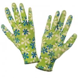 Rękawice ochronne powlekane nitrylem zielone Lahti Pro L2204
