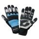Rękawice warsztatowe odblaskowe wzmocnione PVC LahtiPro L2807