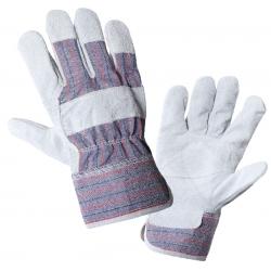 Rękawice ochronne ze skóry bydlęcej 12 par Lahti Pro L270510W