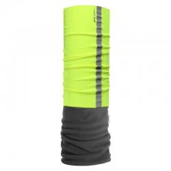 Chusta bandana opaska buff czarna z odblaskiem LahtiPro L1030300