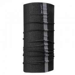 Chusta bandana opaska buff czarna odblask Lahti Pro L1030300