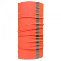 Chusta bandana opaska buff pomarańcz odblask LahtiPro L1030200