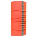 Chusta wielofunkcyjna pomarańczowa z odblaskiem Lahti Pro L1030200