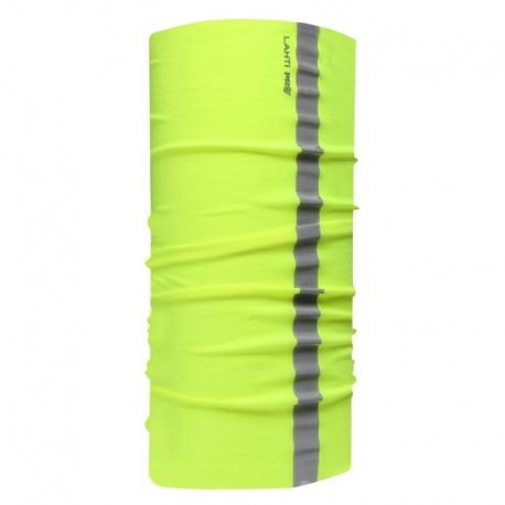 Chusta bandana opaska buff żółta odblask LahtiPro L1030100