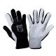 Rękawice ochronne ze skóry koziej czarne Lahti Pro L2707