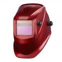 Przyłbica spawalnicza samościemniająca jednozakresowa czerwona Lahti Pro L1540600