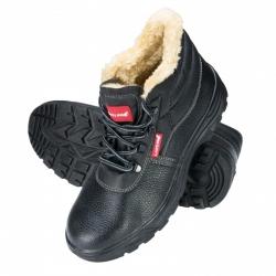 Buty zimowe ochronne męskie ocieplane skórzane S3 SRC LahtiPro