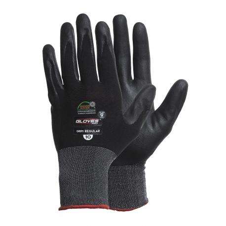 Rękawice ochronne powlekane nitrylem 12 par GLOVES PRO 4617
