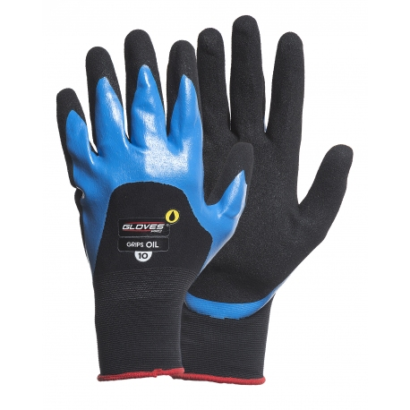 Gloves coated with nitrile 12 pcs GLOVES PRO 4617