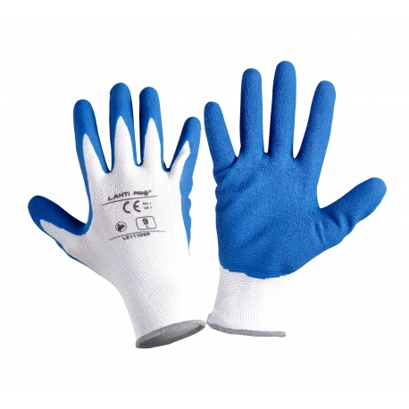 Latex coated protective gloves Lahti Pro L2111