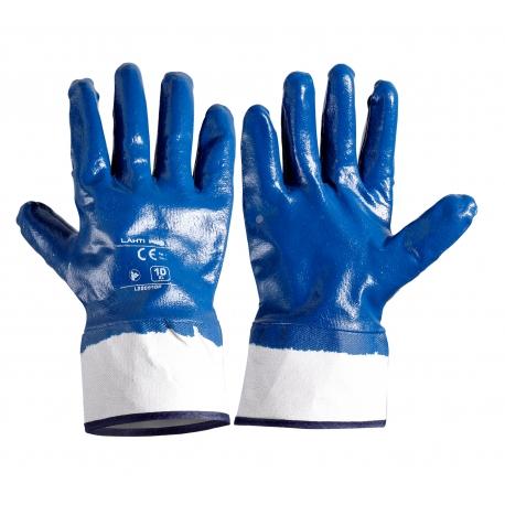 Rękawice ochronne powlekane nitrylem 12 par Lahti Pro L220910W