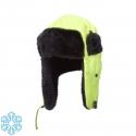 Zimowa czapka uszatka ocieplana żółte Lahti Pro L1020200