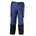 Zimowe spodnie robocze do pasa ocieplane Lahti Pro L41007