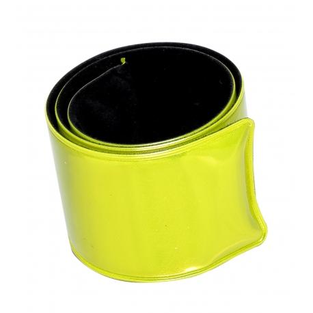 Opaska odblaskowa elastyczna ostrzegawcza samozaciskowa na rękę, nogę, plecak Lahti Pro