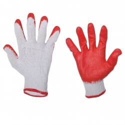 Protective gloves latex working LahtiPro