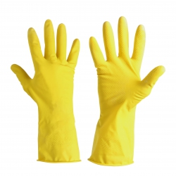Household latex protective gloves Lahti Pro L2113