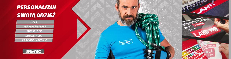 Znakowanie odzieży Lahti Pro